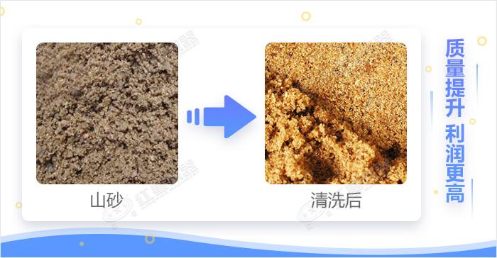 洗山沙效果展示图